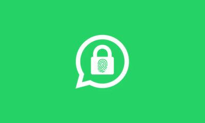 WhatsApp Desbloqueo Huella