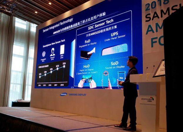 Ni notch ni agujeros, Samsung integrará cámaras bajo la pantalla 32