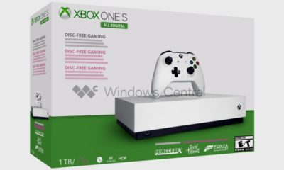 La Xbox One S sin unidad óptica se deja ver y podría lanzarse el 7 de mayo 79