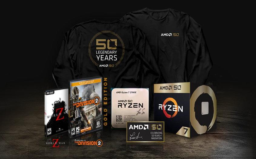 AMD50: AMD presenta ediciones especiales de Ryzen/Radeon y buenas promociones 34