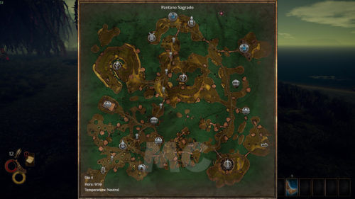 Outward Análisis PC Mapa