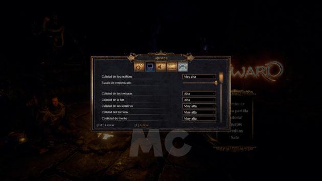 Análisis Outward PC Opciones