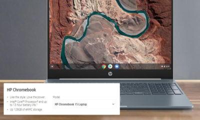 Chromebook de 15 pulgadas HP