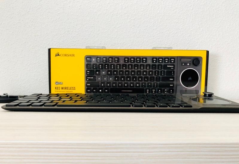 Análisis del Corsair K83, un teclado con complejo de varita mágica 46