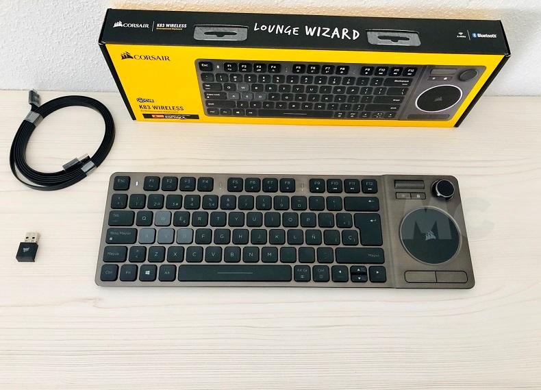 Análisis del Corsair K83, un teclado con complejo de varita mágica 52