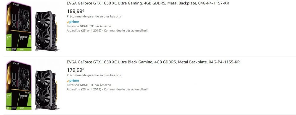 La GTX 1650 tiene un precio de 170 euros, vemos sus especificaciones 42