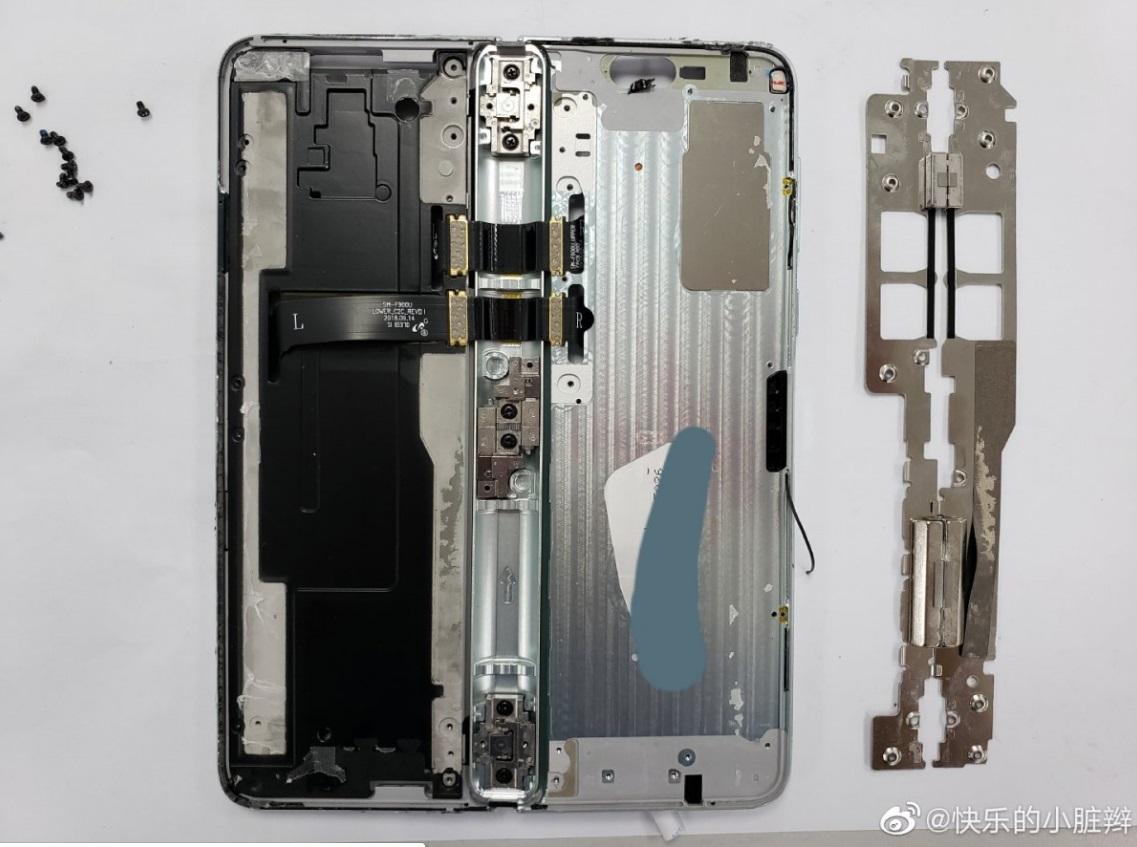 Despiece del Galaxy Fold, así es por dentro lo nuevo de Samsung 44