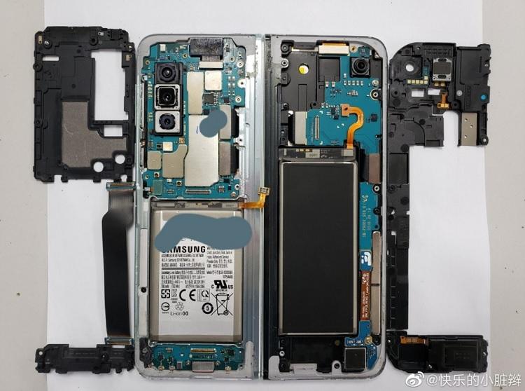 Despiece del Galaxy Fold, así es por dentro lo nuevo de Samsung 46