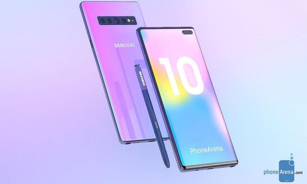 Samsung prepara dos versiones del Galaxy Note 10 30