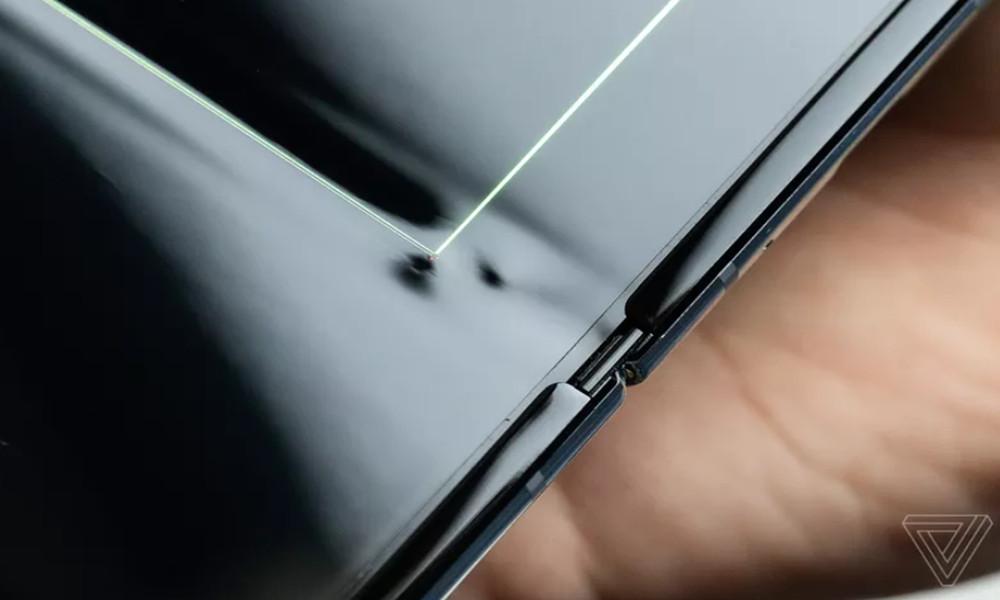 pantalla del Galaxy Fold