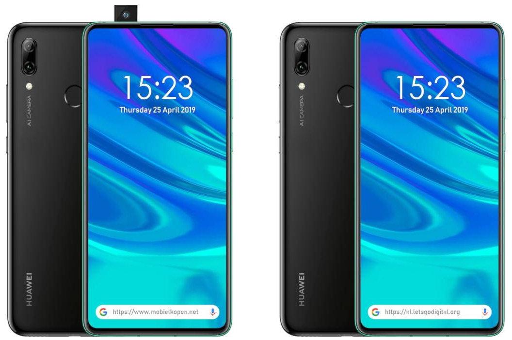 Huawei P Smart Z se apunta a la cámara emergente 29