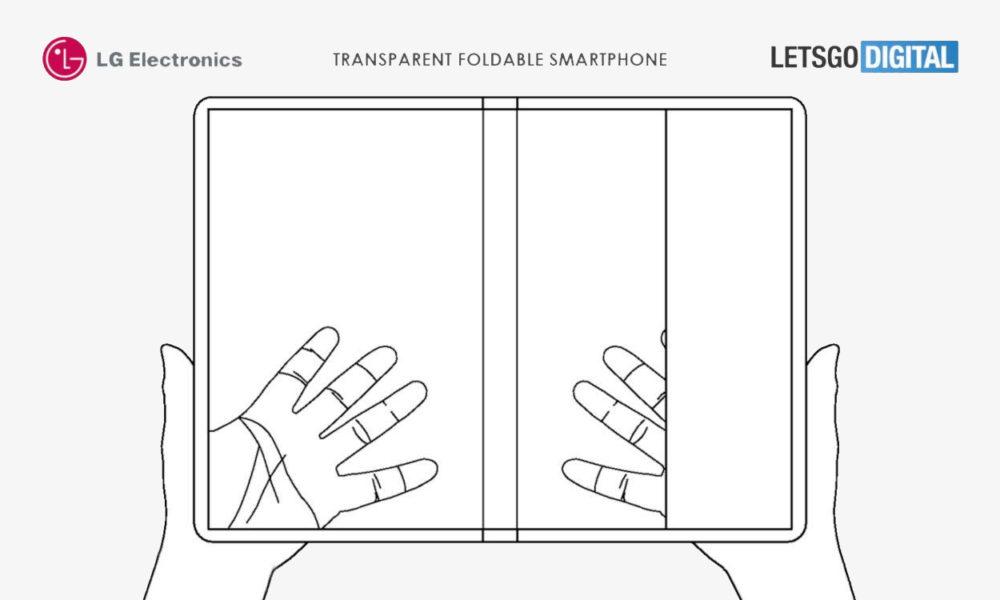 LG Patente Teléfono Plegable Transparente