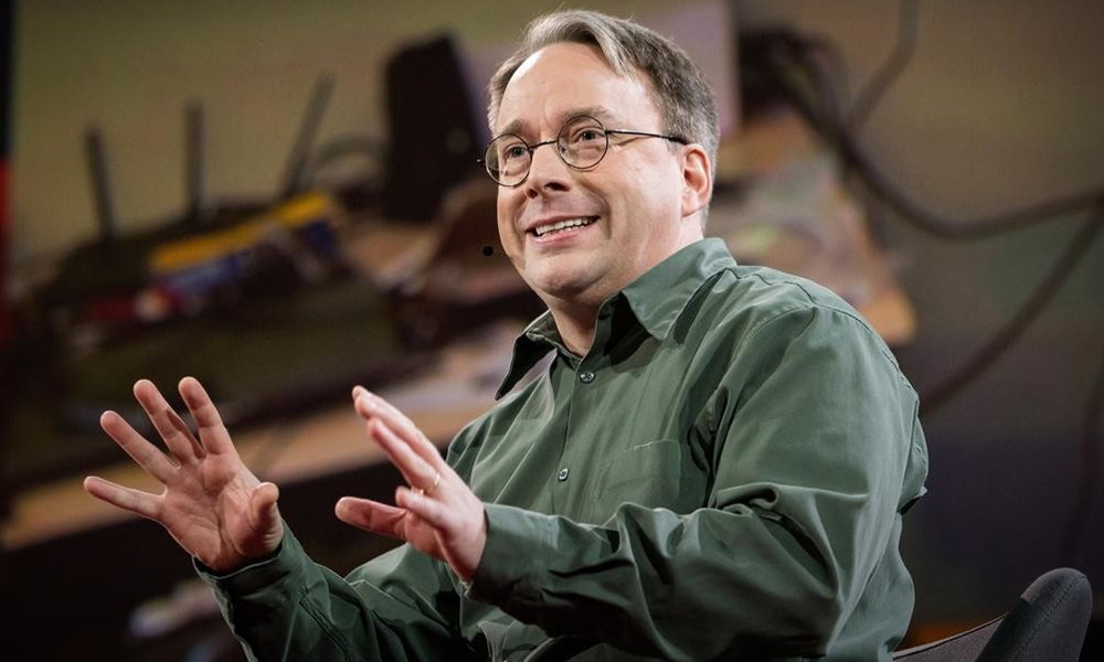 Linus Torvalds y redes sociales