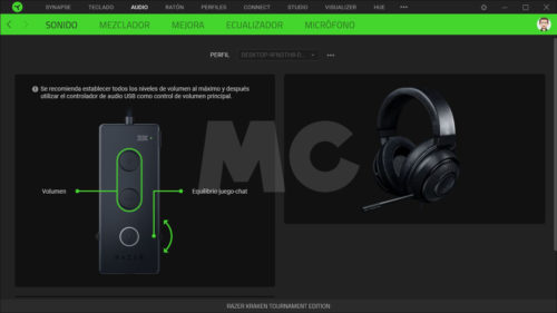Razer Kraken Tournament Edition Synapse