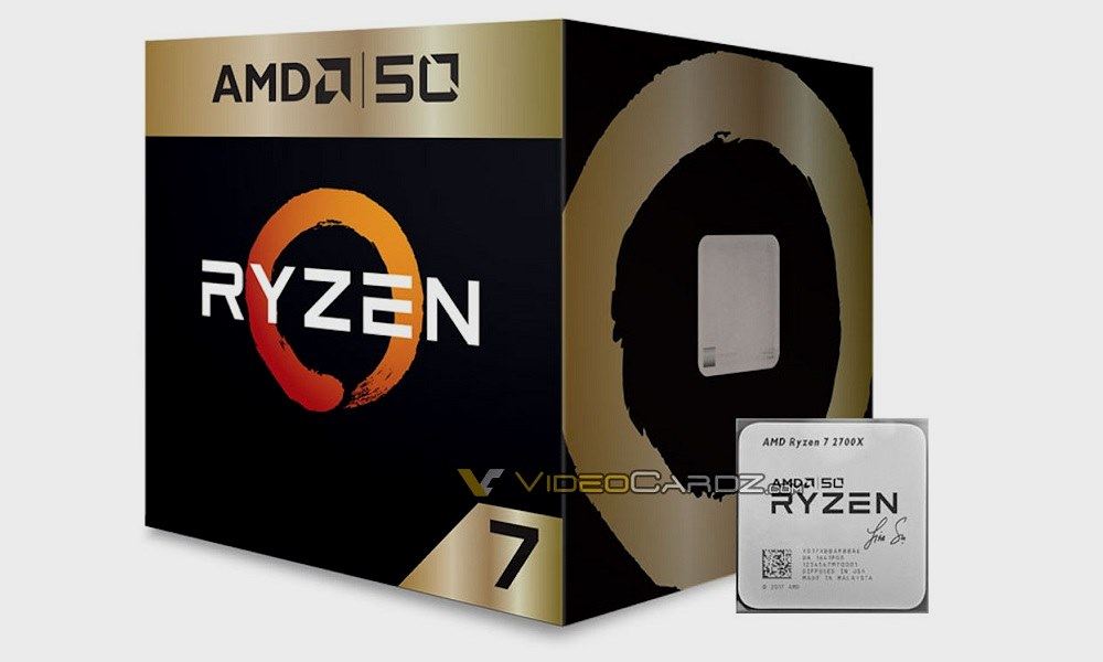 El Ryzen 7 2700X 50 aniversario viene firmado por Lisa Su 31