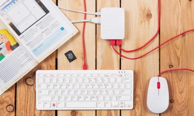 teclado y ratón oficial de Raspberry Pi