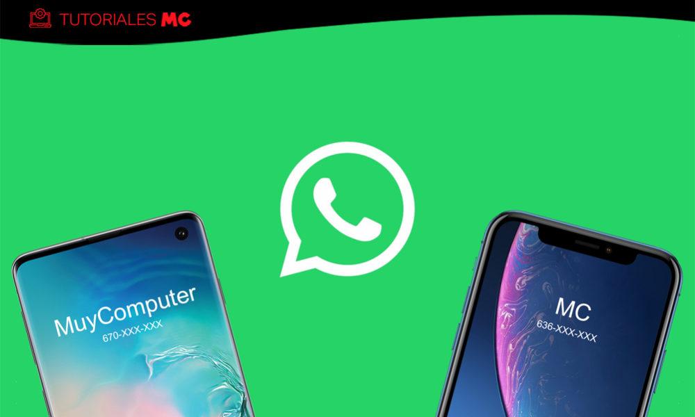 WhatsApp guardar chats cambiar número teléfono