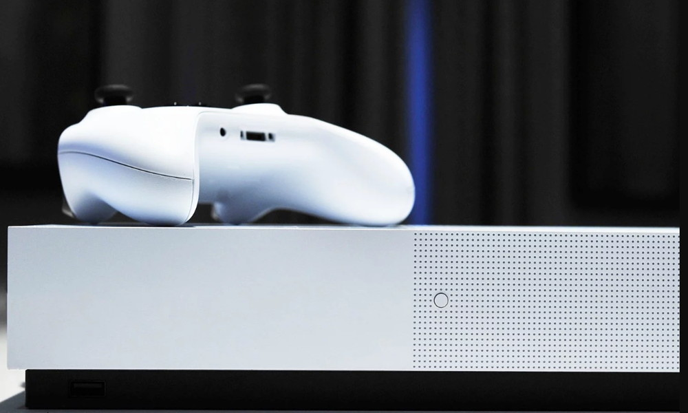 Microsoft anunció oficialmente a su Xbox One S All-Digital Edition