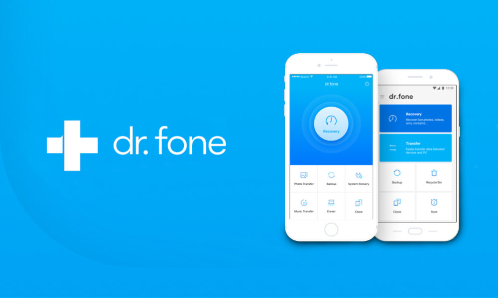 dr.fone recuperar y transferir datos movil