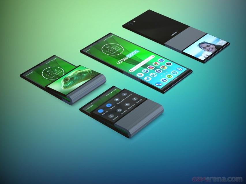 Lenovo patenta smartphone flexible con doble pantalla que se dobla en vertical 35