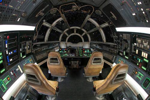 Disneyland Star Wars Halcón Milenario