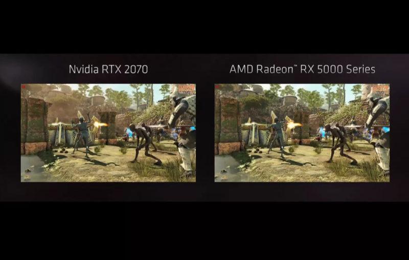 AMD Radeon RX 5700 NVIDIA RTX 2070