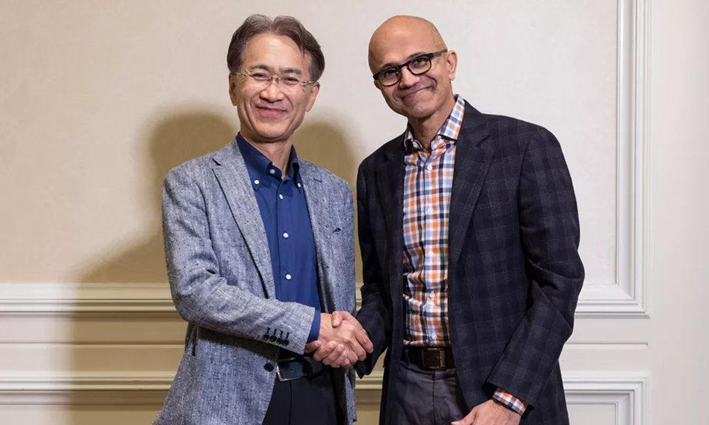 alianza de Sony y Microsoft