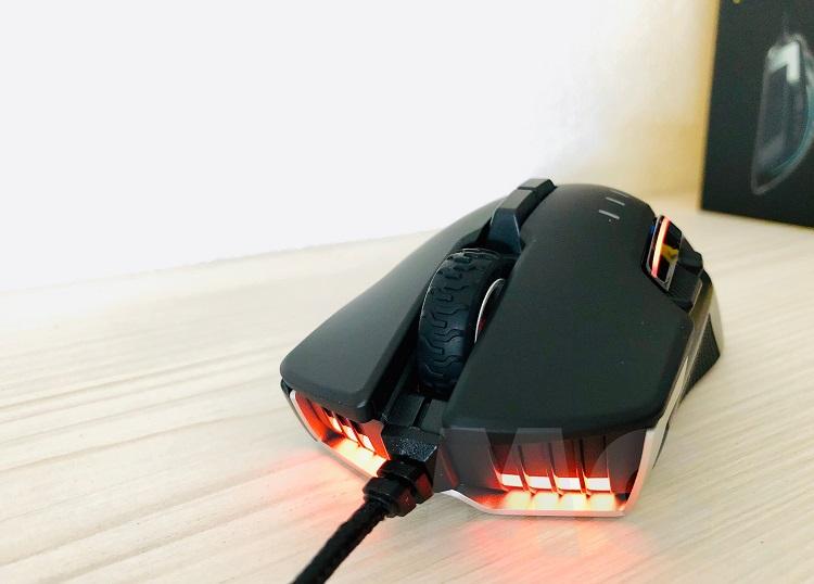 Corsair Glaive RGB PRO, análisis: ergonomía y diseño con un rendimiento sobresaliente 47