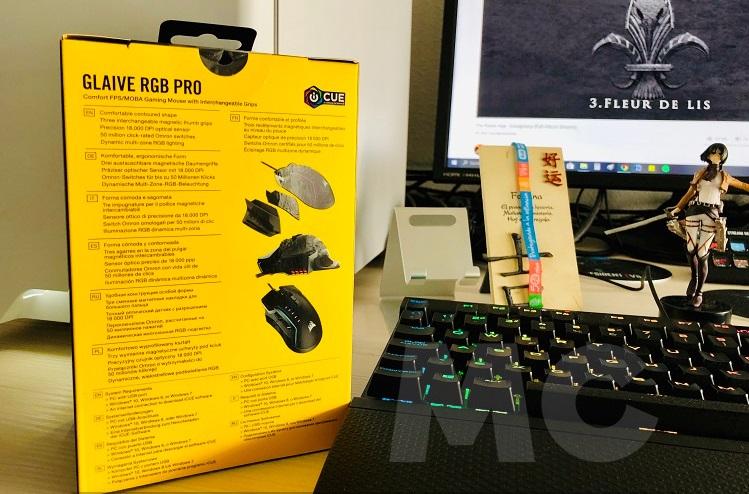 Corsair Glaive RGB PRO, análisis: ergonomía y diseño con un rendimiento sobresaliente 33