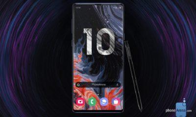 Primeros renders del Galaxy Note 10, el próximo tope de gama de Samsung 72