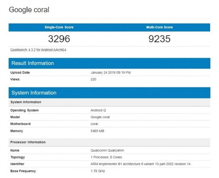El Google Pixel 4 tendrá doble cámara frontal y unos bordes muy contenidos 34