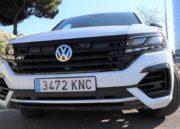 Volkswagen Touareg, destreza 84