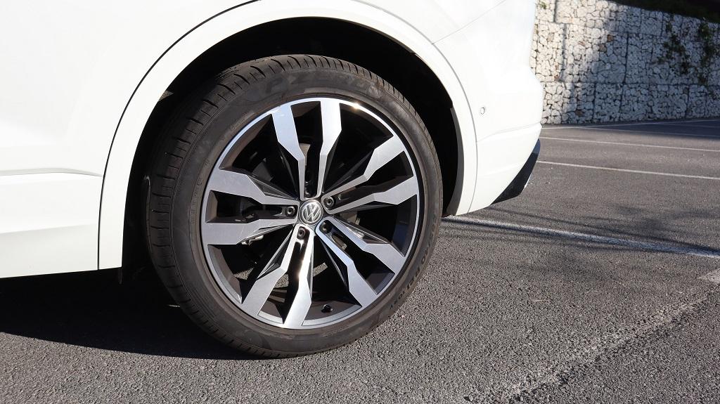 Volkswagen Touareg, destreza 52