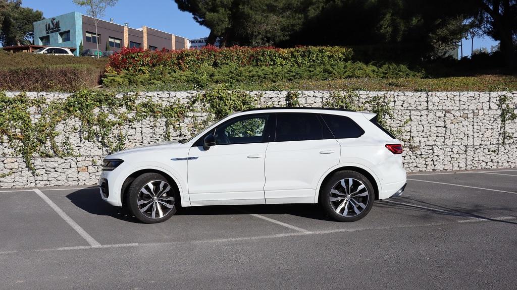 Volkswagen Touareg, destreza 36