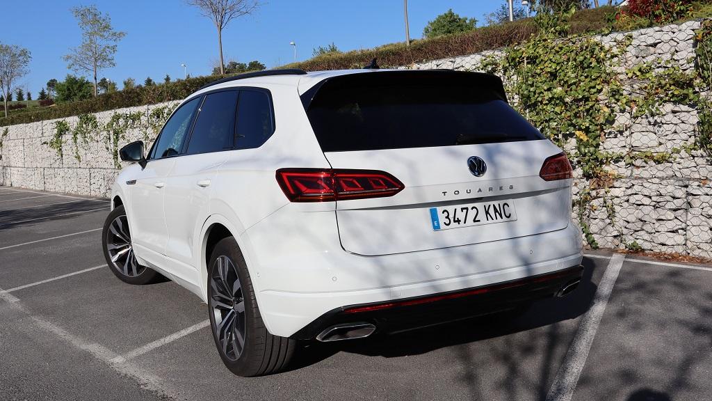 Volkswagen Touareg, destreza 54