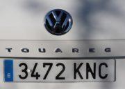 Volkswagen Touareg, destreza 72