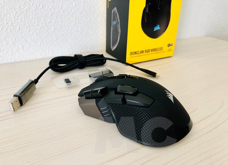 Corsair Ironclaw RGB Wireless, análisis: tú eliges el camino hacia la victoria 40