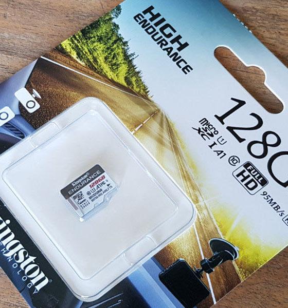Kingston microSD High Endurance
