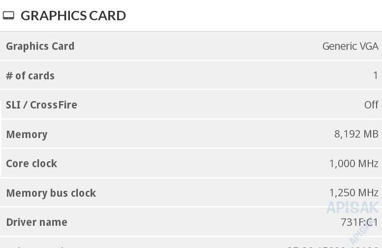 Dos AMD Radeon Navi con 8 GB aparecen listadas en 3DMark y AOTS 34
