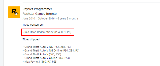 Red Dead Redemption 2 llegará a PC, según un ex-trabajador de Rockstar 34