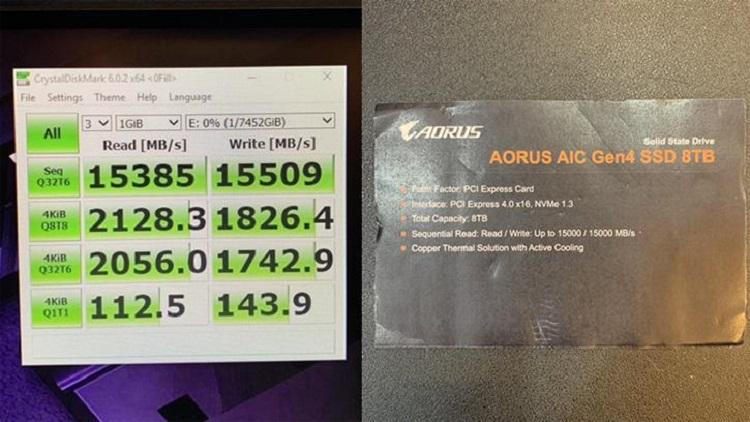 GIGABYTE presenta un SSD capaz de alcanzar los 15.000 MB/s 31