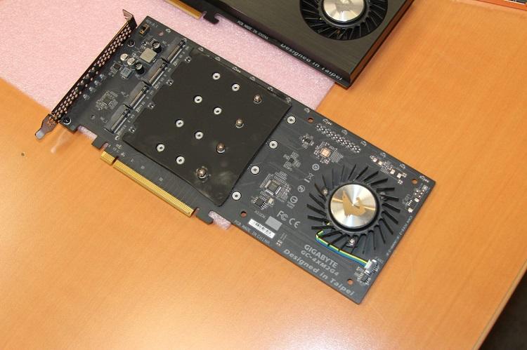 GIGABYTE presenta un SSD capaz de alcanzar los 15.000 MB/s 33