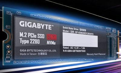 GIGABYTE muestra el primer SSD PCIE 4.0, alcanza los 5.000 MB/s 110