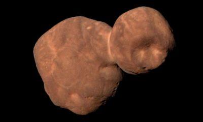 Ultima Thule es un auténtico fósil espacial, según la NASA 39