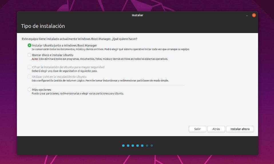 Cómo instalar Windows 10 y Ubuntu 19 con arranque dual desde cero y paso a paso 51