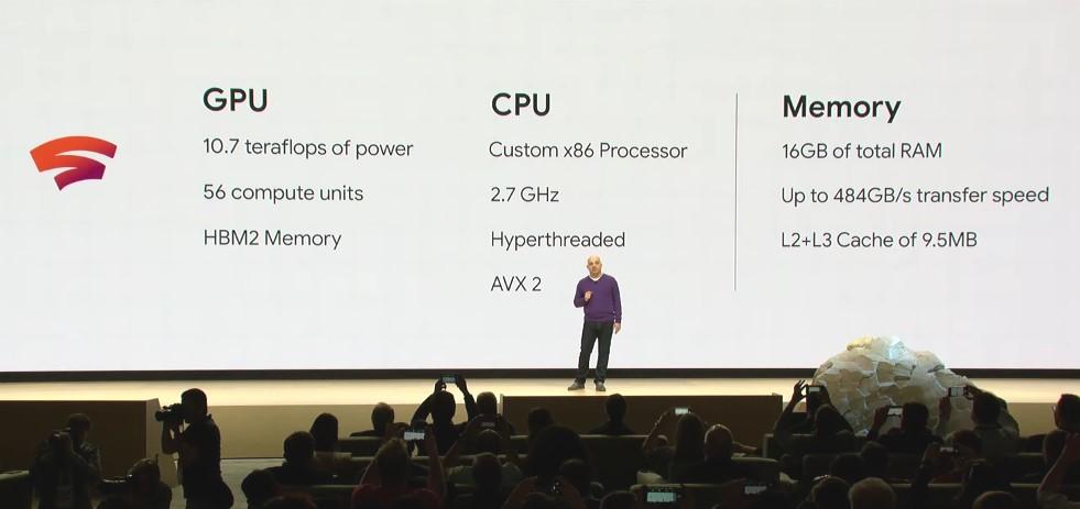 Google confiará en las AMD RX Vega 56 para Stadia 32