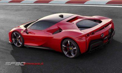 SF90 Stradale, así es el primer híbrido enchufable de Ferrari 36
