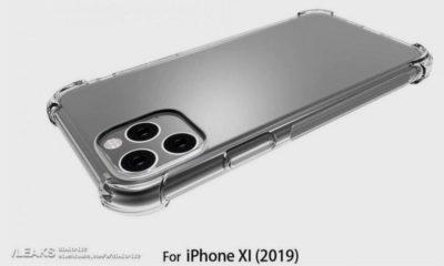 El iPhone XI (2019) tendrá tres cámaras formando un cuadrado 55