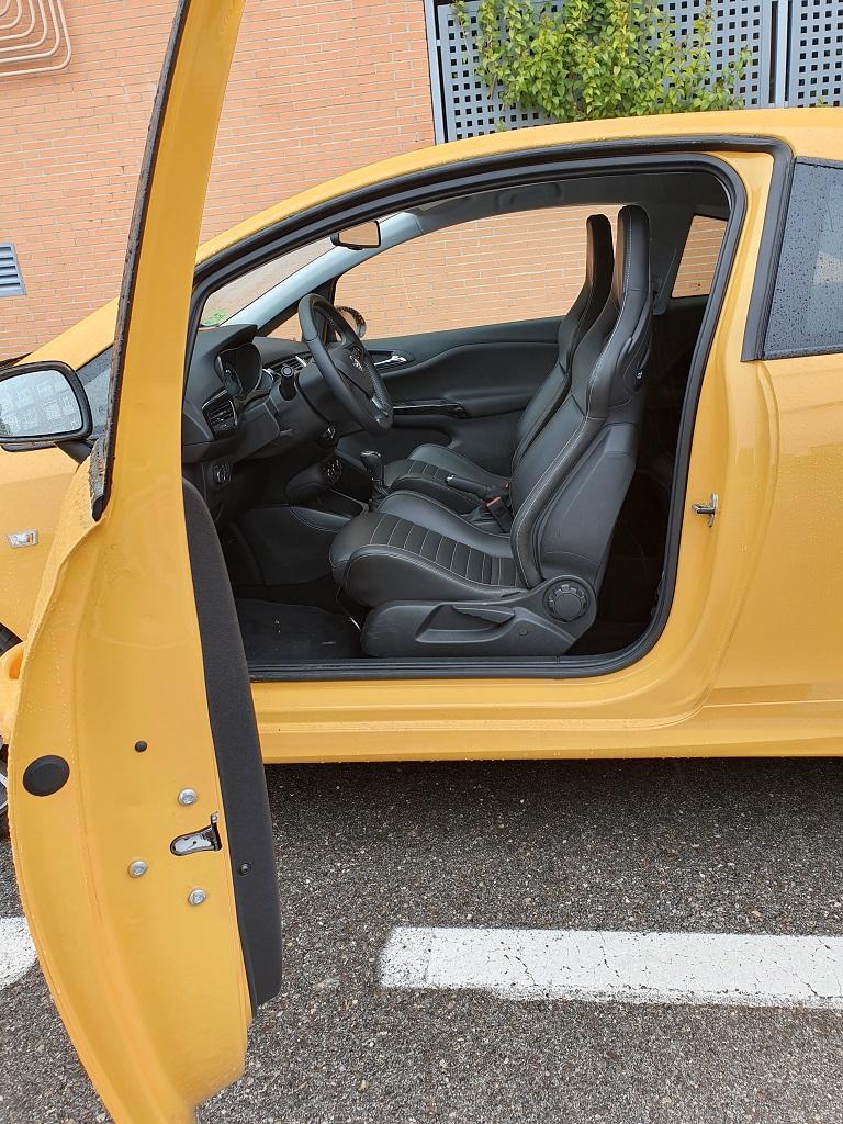 Opel Corsa GSI, chispa 40