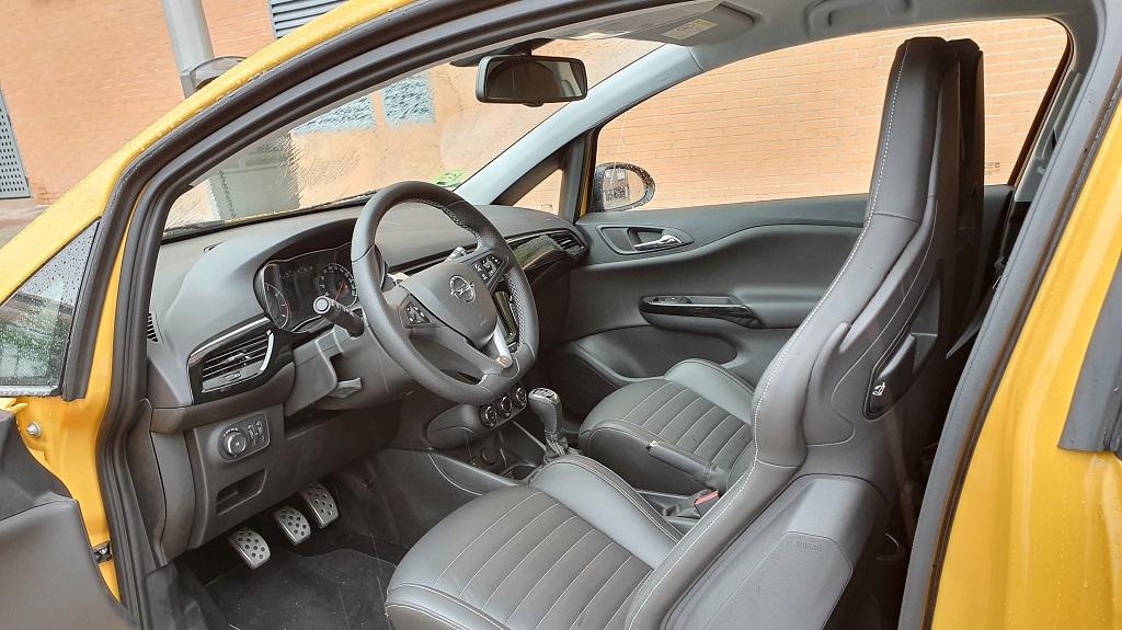 Opel Corsa GSI, chispa 36